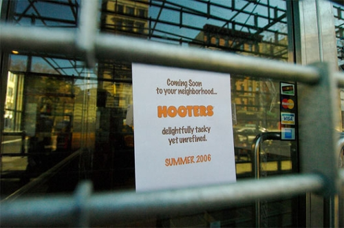 hooters hoax photo