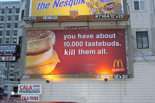 liberation advertisement